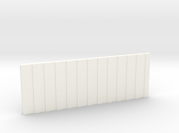 Card for V6 Box and V6 Box MHS Compatible in White Processed Versatile Plastic