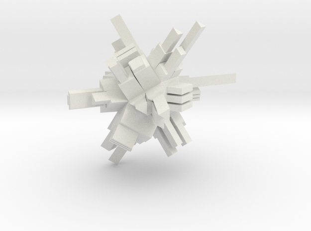 CITADEL 1 MEDIUM in White Natural Versatile Plastic