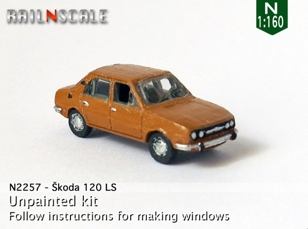 Skoda 120 LS (N 1:160) in Frosted Ultra Detail