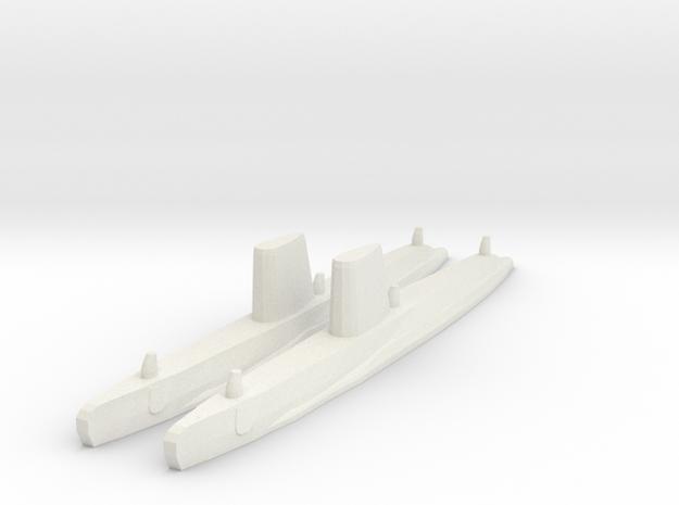 Guppy III x2 1/1800 in White Strong & Flexible