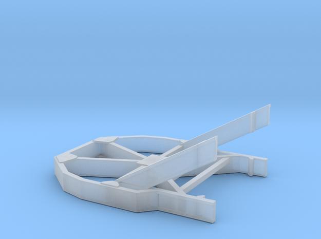 1/87 Boeing Fuselage Icebreaker for flatcar in Smooth Fine Detail Plastic