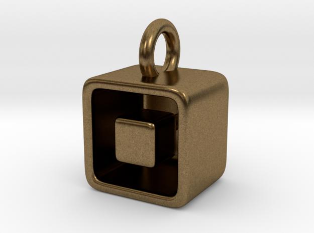Levitation Cube Pendant