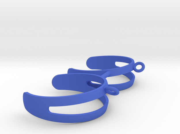 Pickel Ball Holder in Blue Strong & Flexible Polished