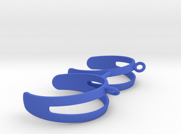 Pickel Ball Holder in Blue Processed Versatile Plastic