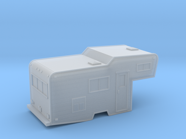 N-Scale Camper Conversion 1 in Smoothest Fine Detail Plastic