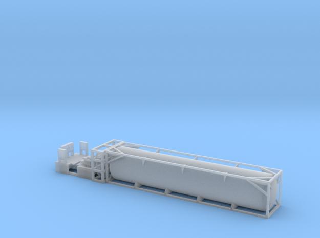 FEC LNG Tank - HOscale in Smooth Fine Detail Plastic