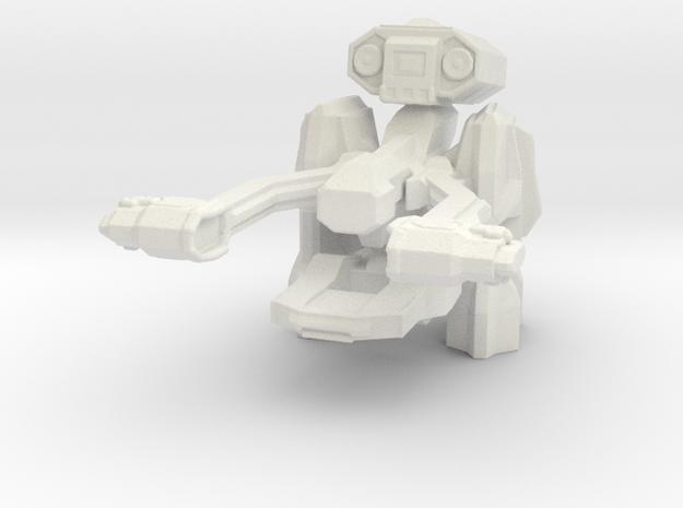 Security Recon Reaper in White Natural Versatile Plastic
