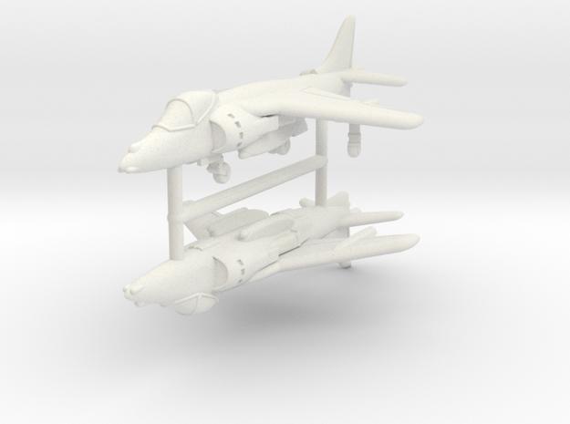 1/350 Harrier GR7/9 (x2) in White Strong & Flexible