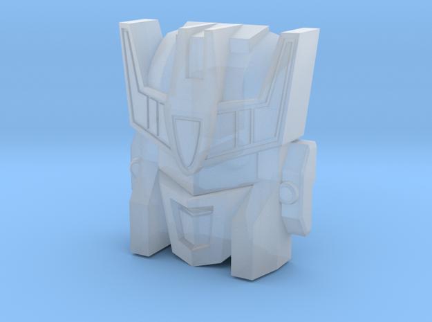 Stalker / MW Soundwave Face (Titans Return) in Smooth Fine Detail Plastic