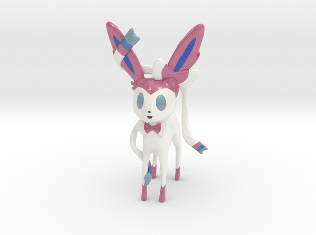 Sylveon in Glossy Full Color Sandstone