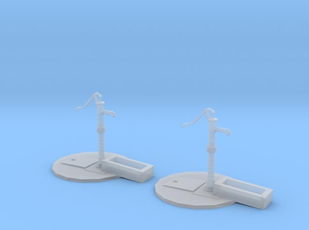 Street pump type: A 1:87( H0 ) scale 2 Pcs set 3d printed