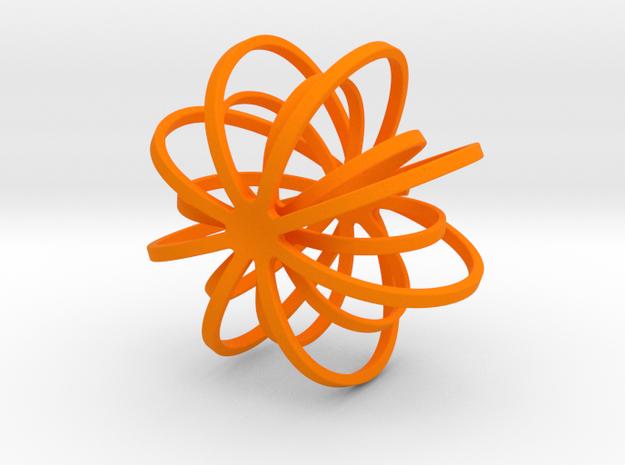 Hoo-lloween Pumpkin   Garden Jewelry in Orange Processed Versatile Plastic