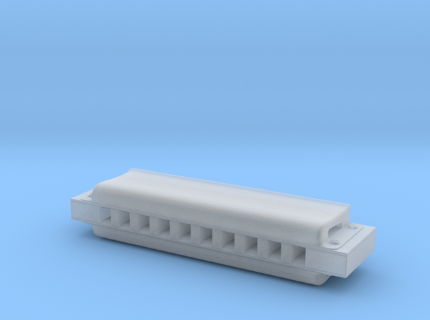 1/6th Scale Harmonica in Smoothest Fine Detail Plastic