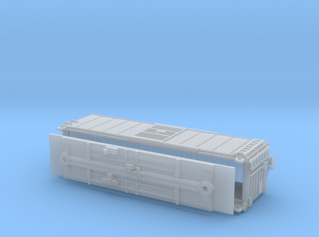 PRR X29B Boxcar N Scale Fine Details No Cage in Frosted Ultra Detail