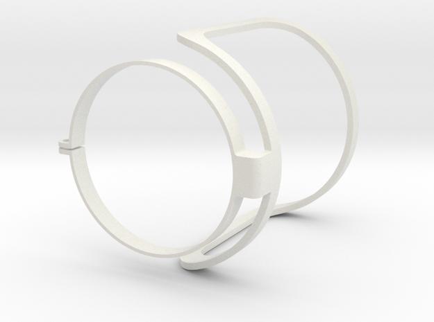 Audio Technica At2020 Pop Filter  in White Natural Versatile Plastic