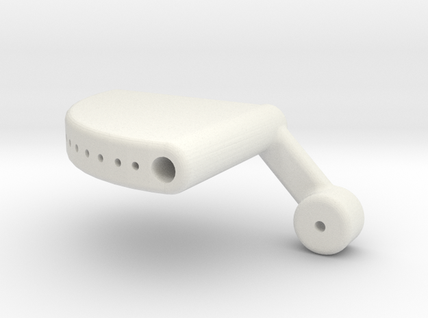 Universal Tail Support V2 LH in White Strong & Flexible