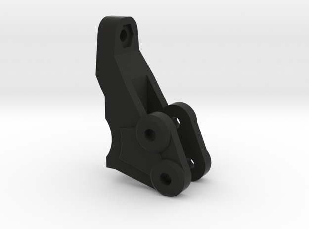 NCX10 Panhard Mount in Black Natural Versatile Plastic