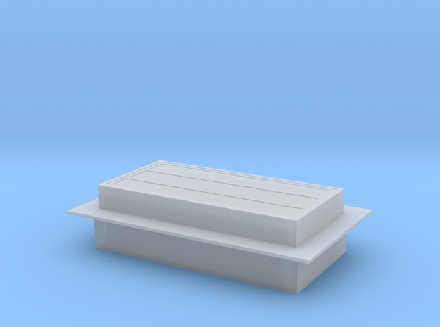 Red Barn Skylight -72:1 Scale in Smooth Fine Detail Plastic
