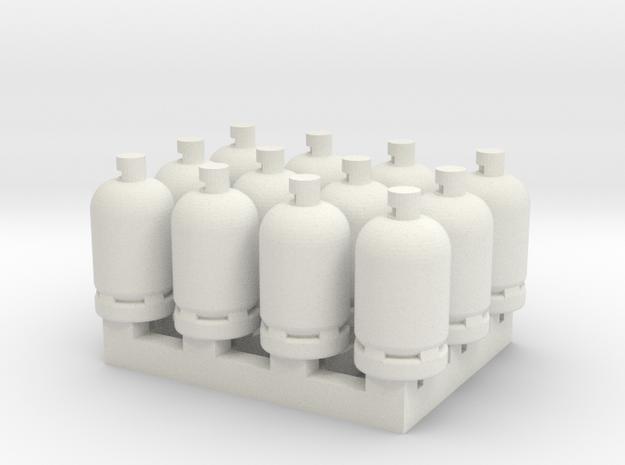 12 Gas Bottles