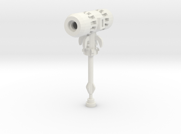 Mecha Mallet (RF Edition) in White Natural Versatile Plastic