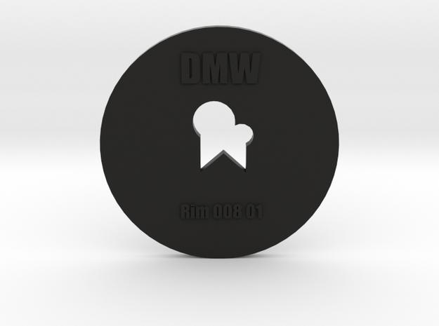 Clay Extruder Die: Rim 008 01 in Black Natural Versatile Plastic