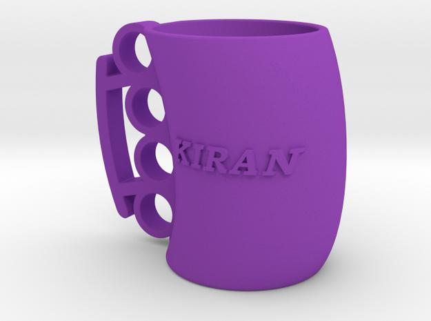 Cofee Mug Kiran1 in Purple Processed Versatile Plastic