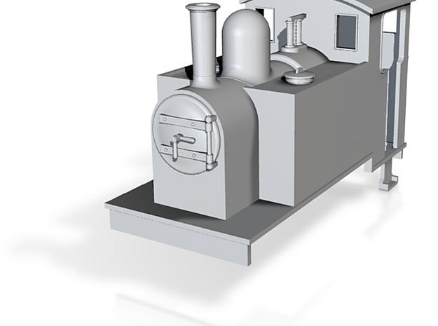 OO9 Sidetank loco  3d printed