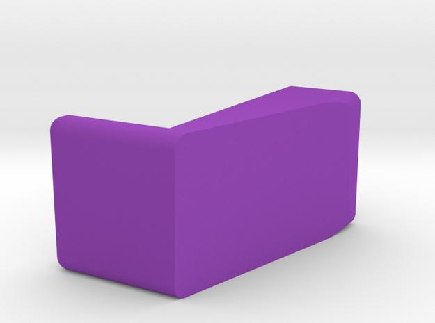 Kartenhalter 001 Rund in Purple Processed Versatile Plastic