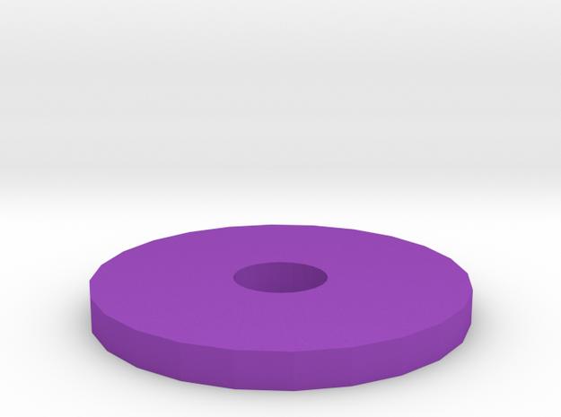 Guide1 in Purple Processed Versatile Plastic