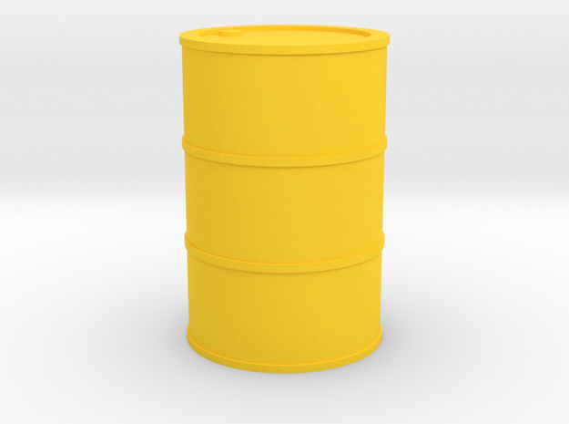 Oil Barrel 1/45 in Yellow Strong & Flexible Polished