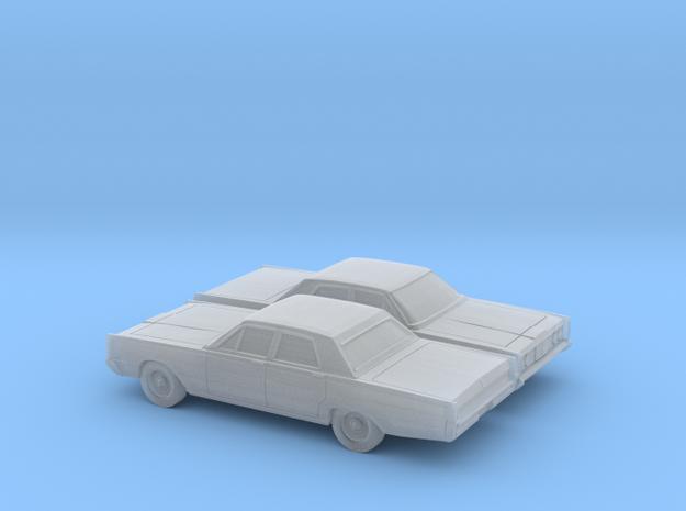 1/160 2X  1965 Mercury Monterey Sedan in Smooth Fine Detail Plastic