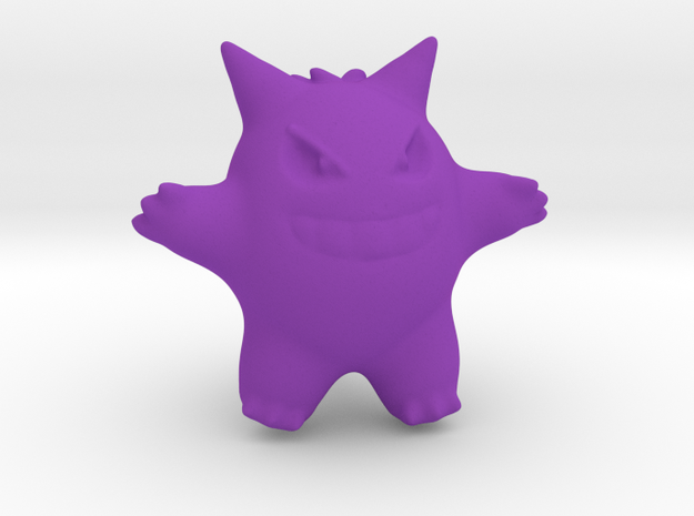 Gengar in Purple Processed Versatile Plastic