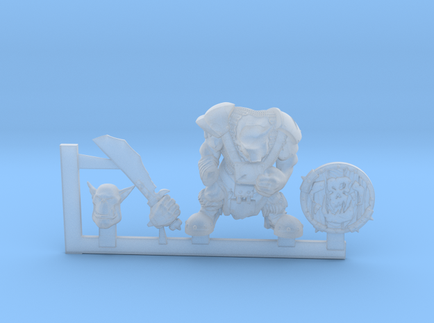 Orc Looter 3d printed