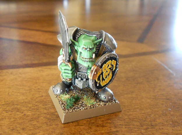 Orc Looter in Smooth Fine Detail Plastic
