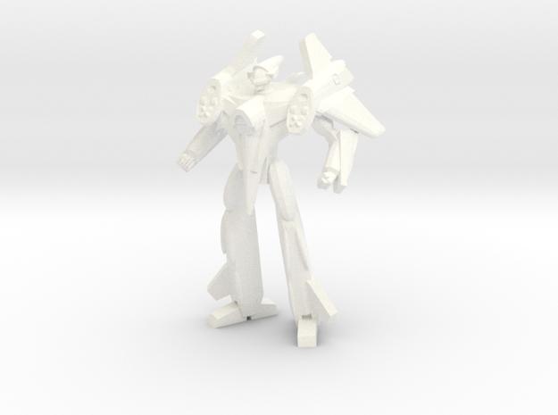 VF-4 Battroid 1/285 in White Processed Versatile Plastic