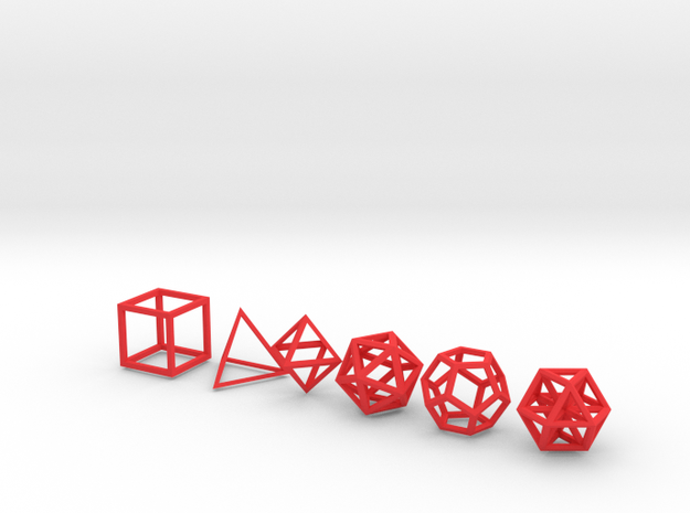 Metatronic Solids 3d printed