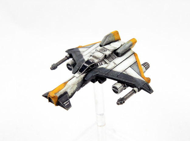 Vaksai Starfighter Variant 2AB 1/270 in Smoothest Fine Detail Plastic