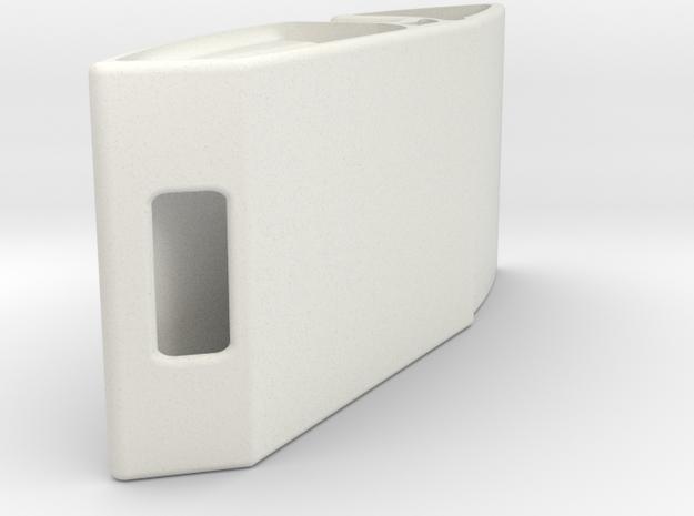Ellipse Desk Phone Dock in White Natural Versatile Plastic
