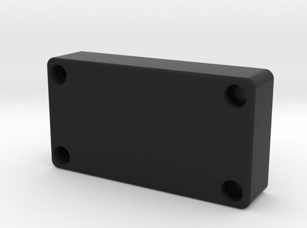 Custom Fiero Blanking Plate in Black Strong & Flexible