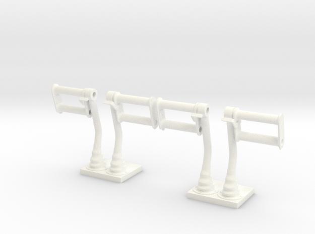 1.8 PALONNIERS LAMA in White Processed Versatile Plastic