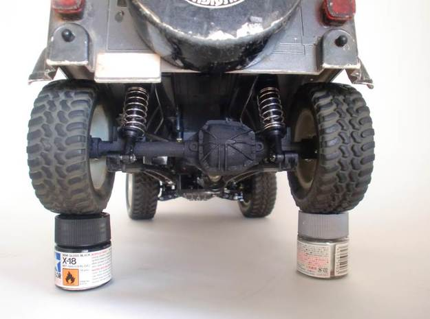 CC01 REAR AXLE HOUSING FOR TAMIYA WRANGLER