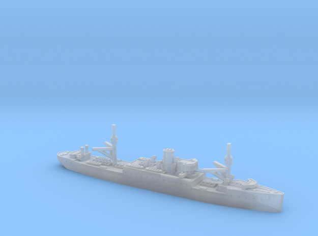 USS Vestal 1/4800 in Smooth Fine Detail Plastic