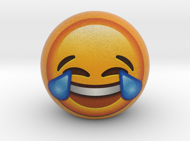 SmileBall / EmojiBall 3D - Give a smile to everyon in Full Color Sandstone