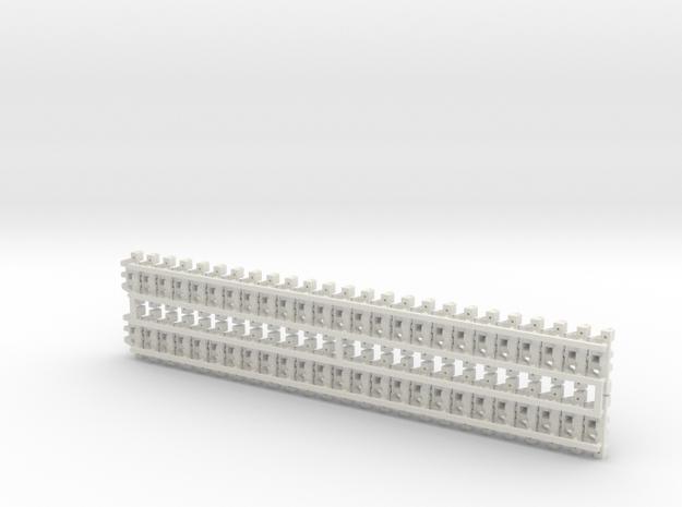 1:16scale TYPE97 TANK  Caterpillarx50pcs V2.0 in White Natural Versatile Plastic