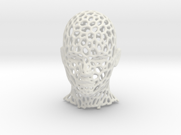 Mesh Head in White Strong & Flexible