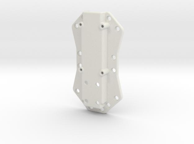 Body Top in White Natural Versatile Plastic