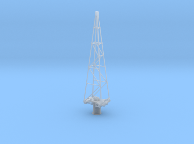 Yamato Crane Tower 1:144 in Frosted Ultra Detail