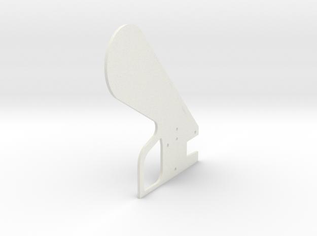 LPA NN-14 Grip  Right in White Natural Versatile Plastic
