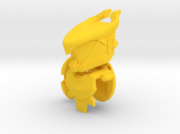 Golden Bull Gear Set in Yellow Processed Versatile Plastic
