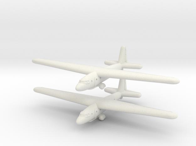 Aeronautica Lombarda AL-12P (1/285) in White Strong & Flexible
